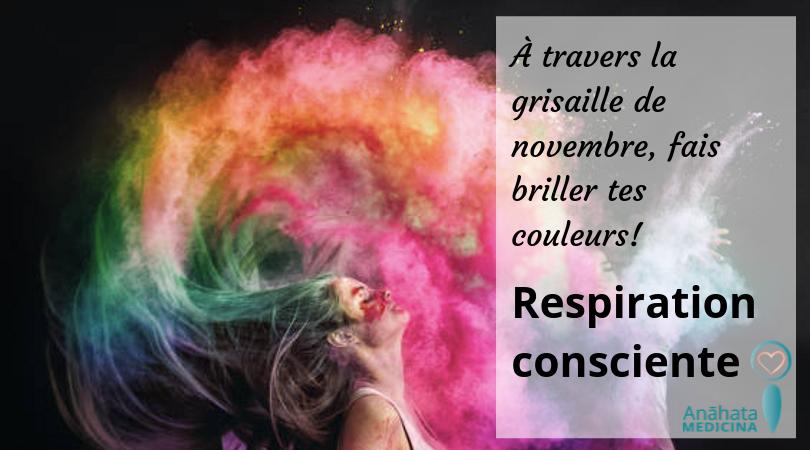 Respiration consciente @ Studio E. Shanti