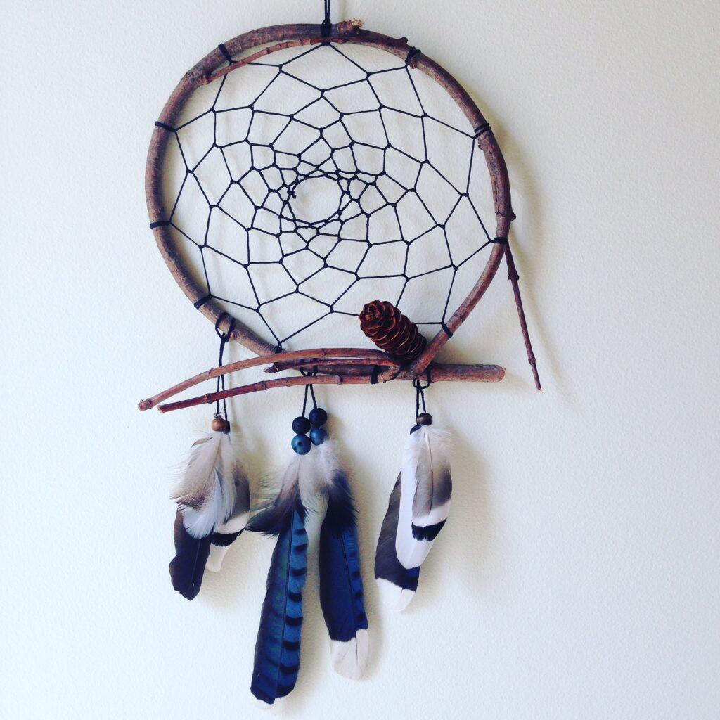 anahata-medicina-capteur-de-reves-geai-bleu