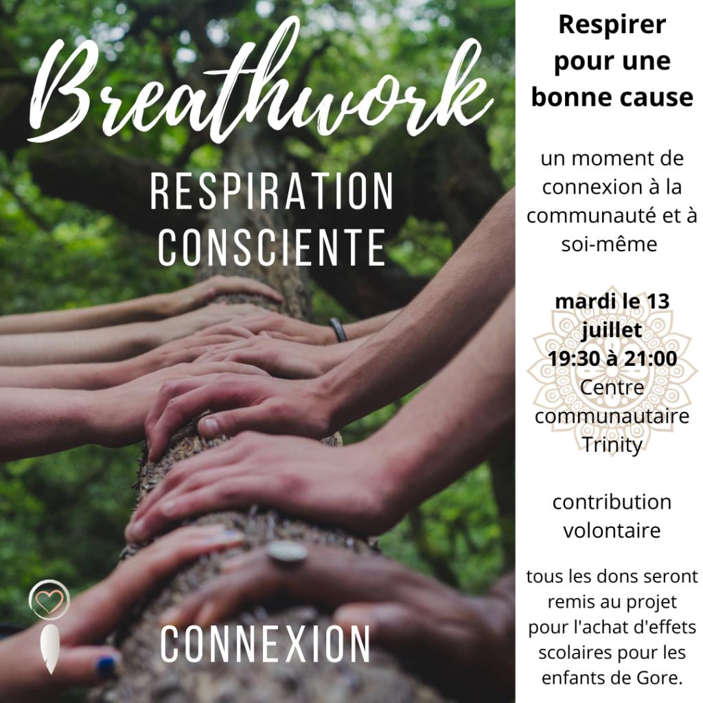 Breathwork communautaire @ Centre communautaire Trinity